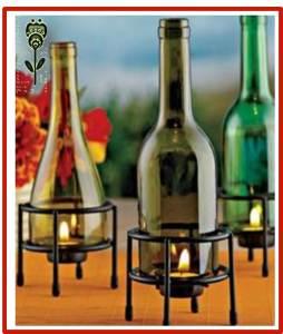 decoracion con velas romanticas