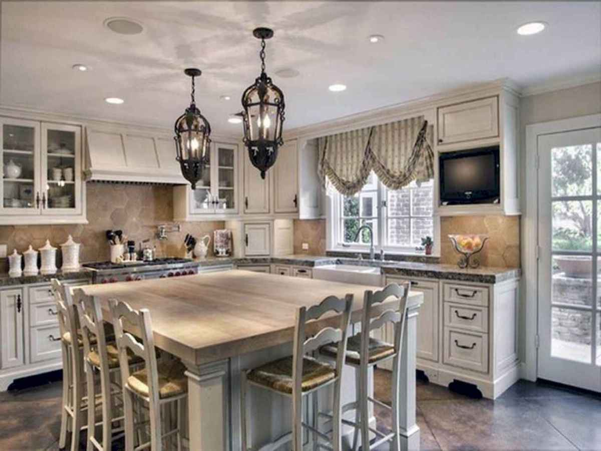 01 Simple French Country Kitchen Decor Ideas