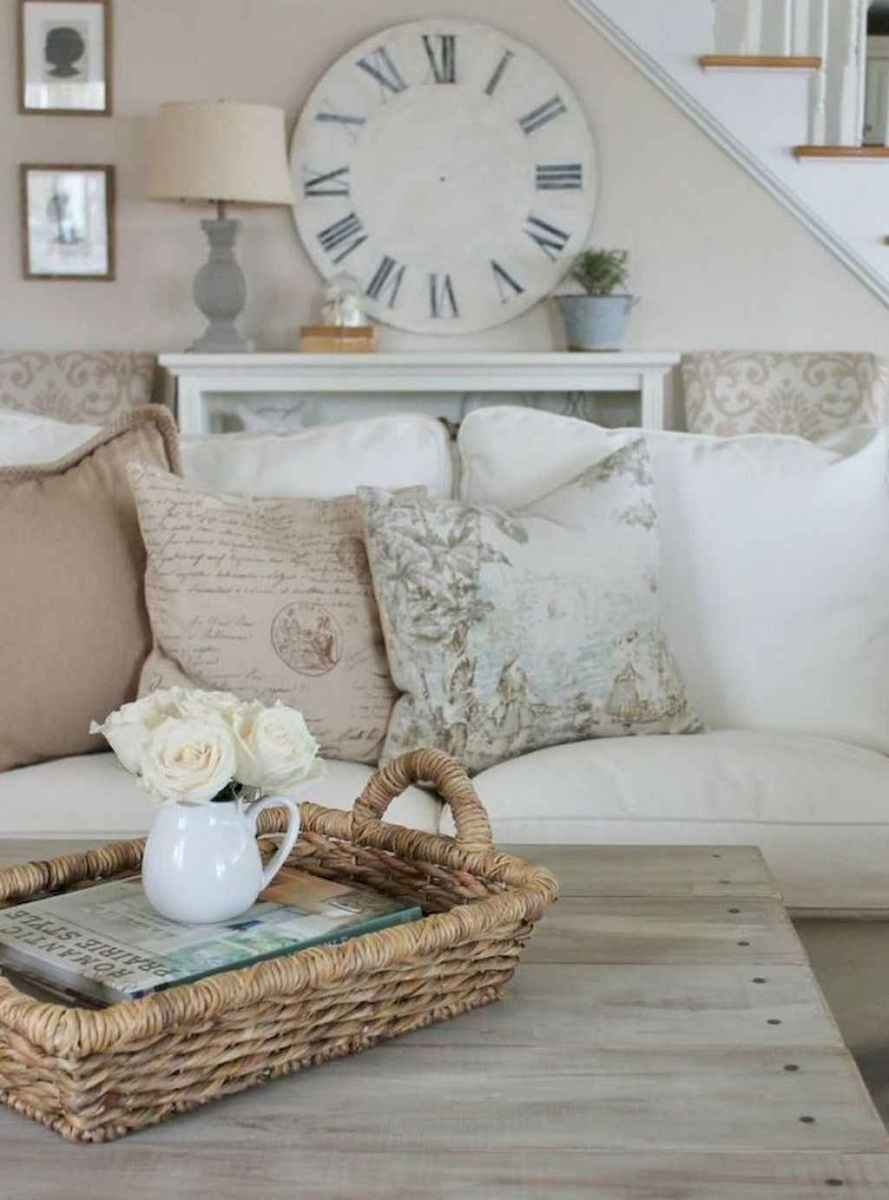 20 Elegant French Country Living Room Decor Ideas