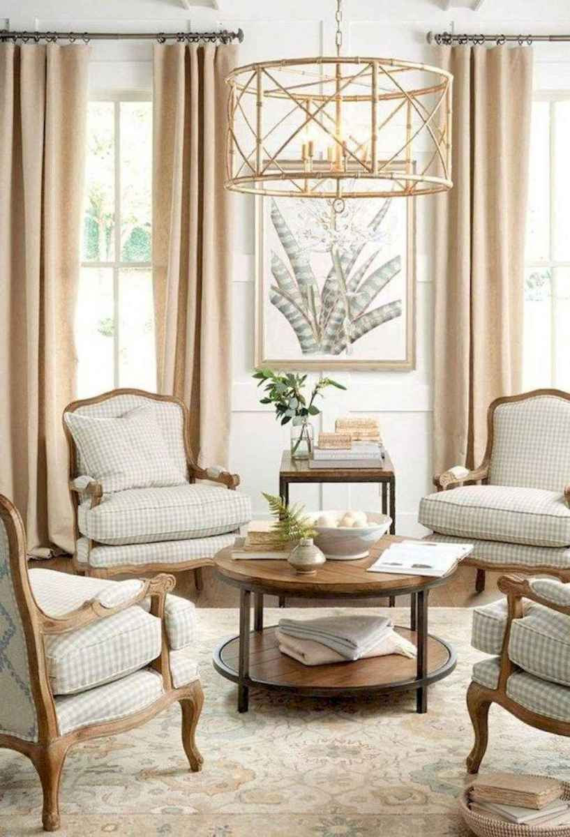 43 Elegant French Country Living Room Decor Ideas