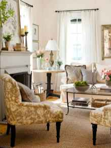 52 Elegant French Country Living Room Decor Ideas