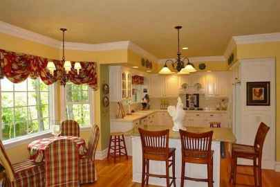 55 Simple French Country Kitchen Decor Ideas