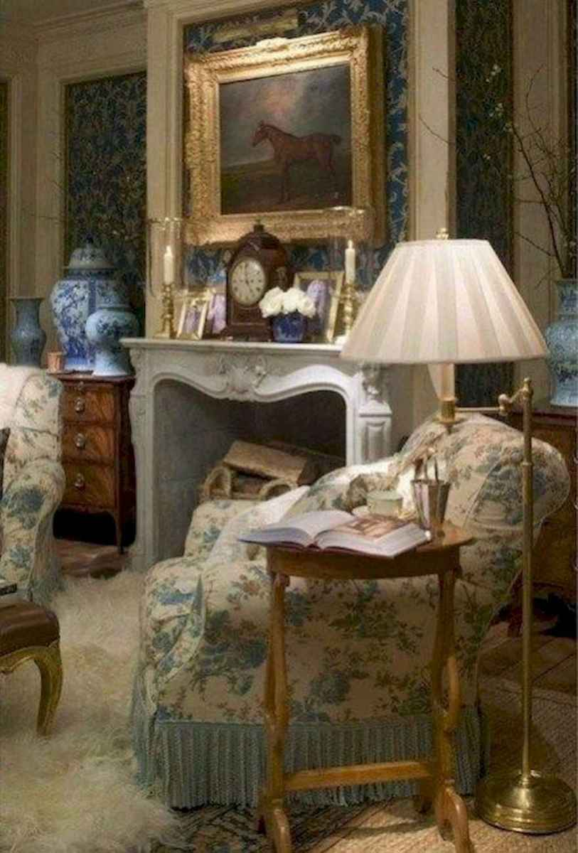 58 Elegant French Country Living Room Decor Ideas