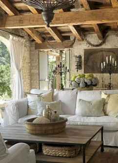 66 Elegant French Country Living Room Decor Ideas