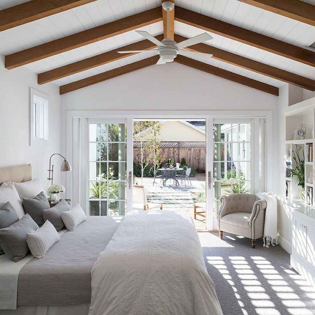 71 Rustic Farmhouse Style Master Bedroom Decorating Ideas