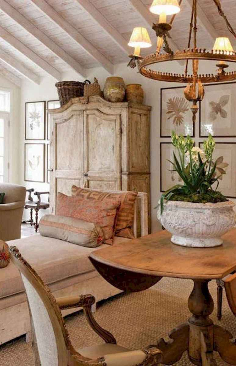 81 Elegant French Country Living Room Decor Ideas