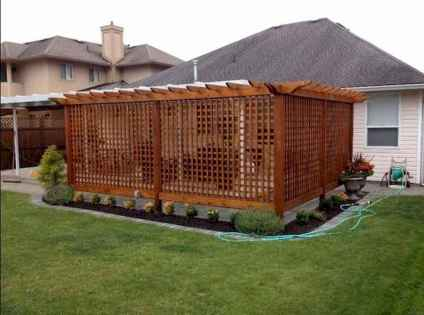 01 Affordable Backyard Privacy Fence Ideas