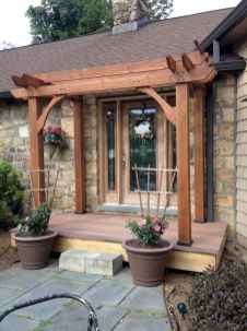 13 Beautiful Wooden and Stone Front Porch Ideas