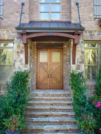 17 Beautiful Wooden and Stone Front Porch Ideas