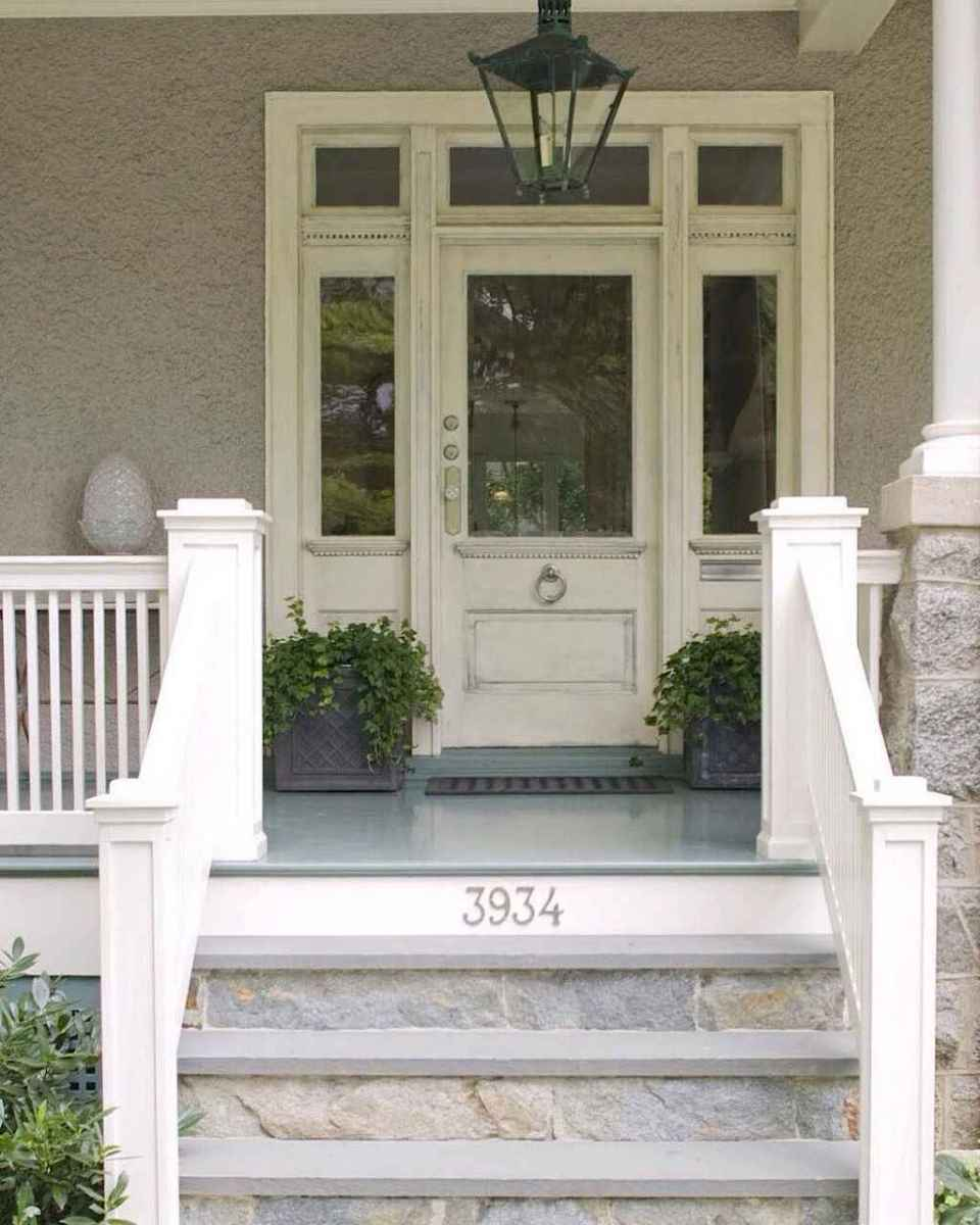 21 Beautiful Wooden and Stone Front Porch Ideas