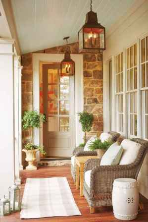 22 Beautiful Wooden and Stone Front Porch Ideas