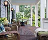 33 Beautiful Wooden and Stone Front Porch Ideas