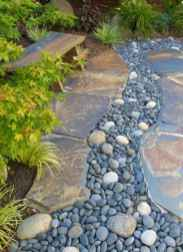 38 Gorgeous Front Yard Rock Garden Landscaping Ideas