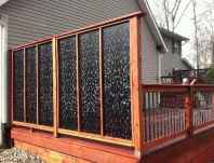 40 Affordable Backyard Privacy Fence Ideas