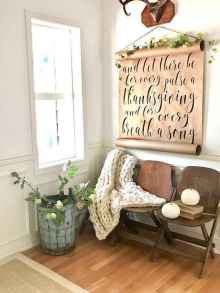 47 Welcoming Rustic Farmhouse Entryway Decorating Ideas