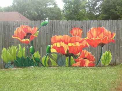 49 Affordable Backyard Privacy Fence Ideas