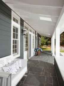 54 Beautiful Wooden and Stone Front Porch Ideas