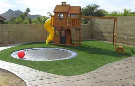 56 Small Backyard Playground Landscaping Ideas on a Budget