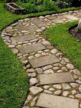 61 Amazing Front Yard Walkways Ideas on A Budget