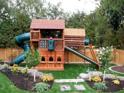 61 Small Backyard Playground Landscaping Ideas on a Budget