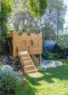 71 Small Backyard Playground Landscaping Ideas on a Budget