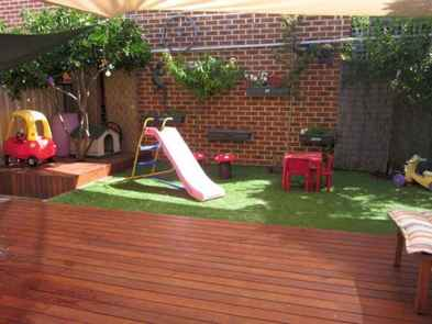 73 Small Backyard Playground Landscaping Ideas on a Budget