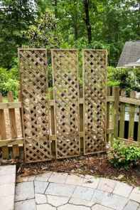 74 Affordable Backyard Privacy Fence Ideas