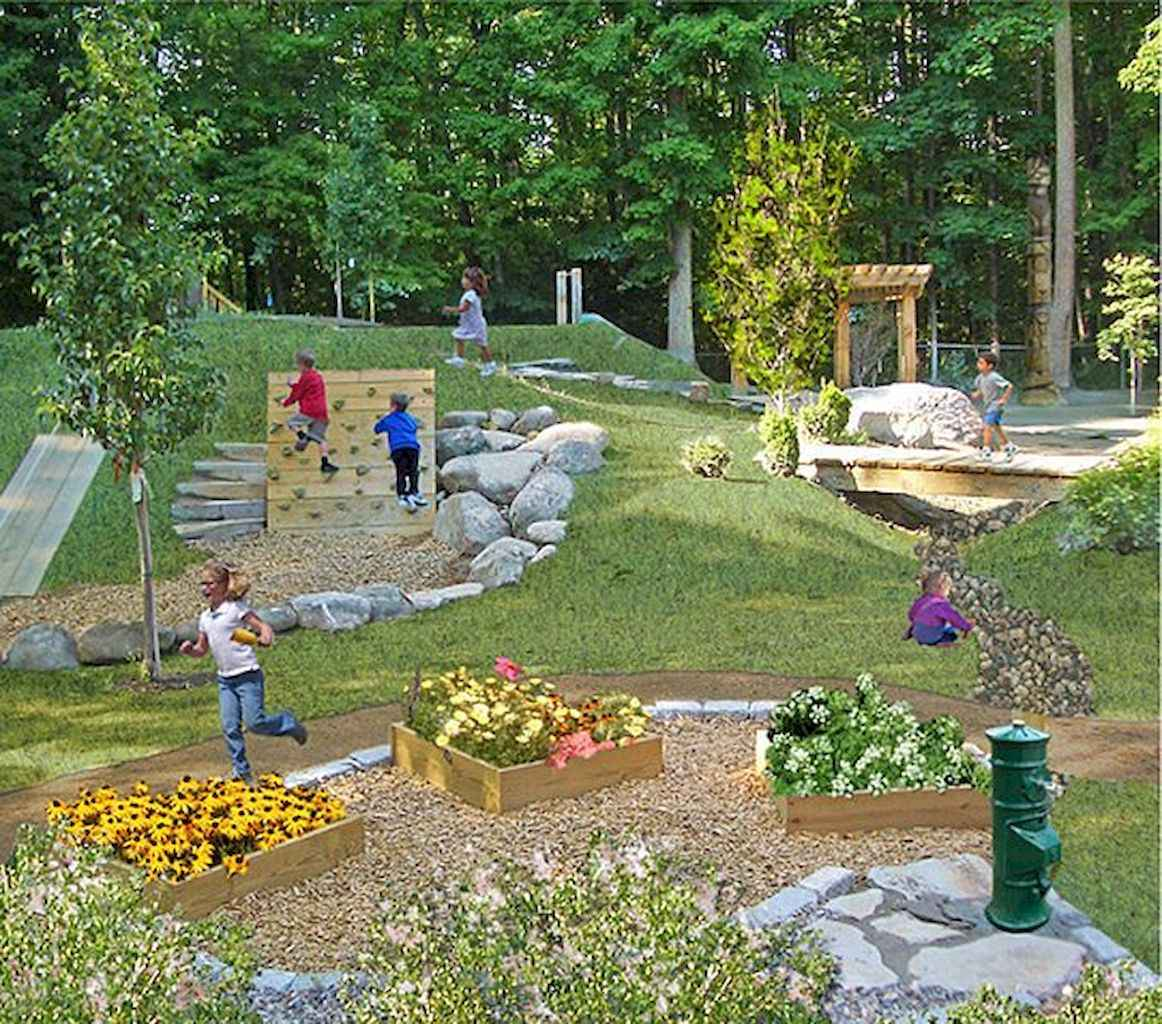 78 Small Backyard Playground Landscaping Ideas on a Budget