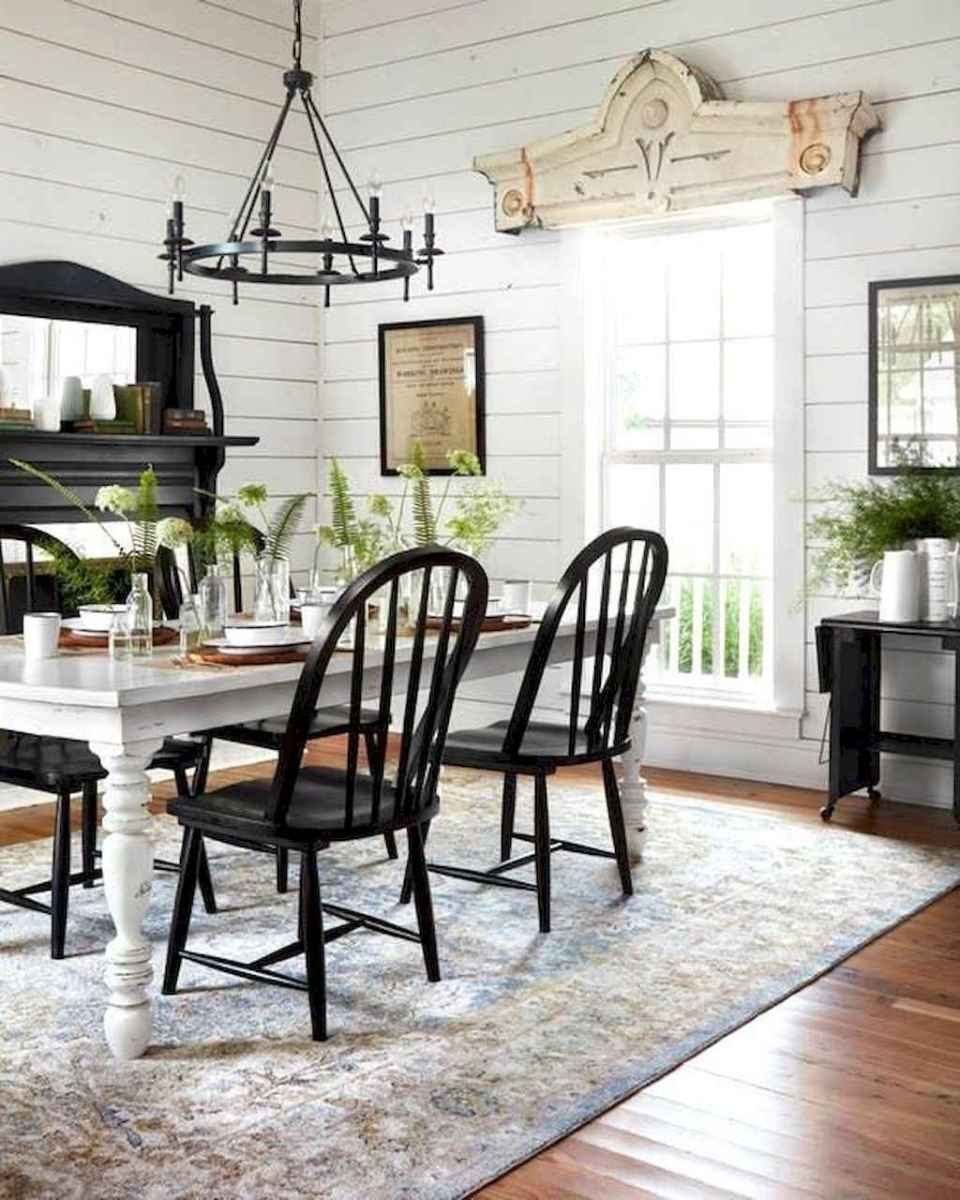 44 Beautiful Farmhouse Dining Room Design Ideas