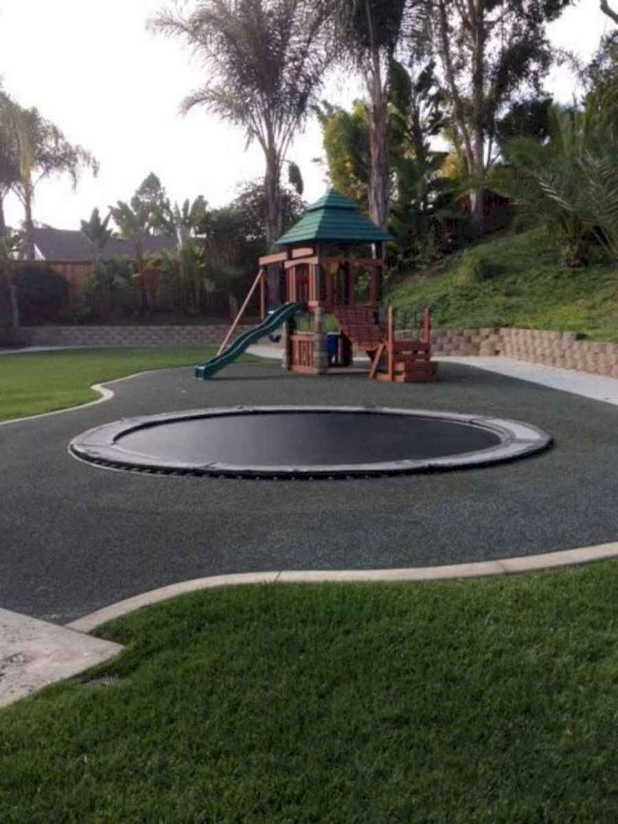 01 Exciting Small Backyard Playground Kids Design Ideas