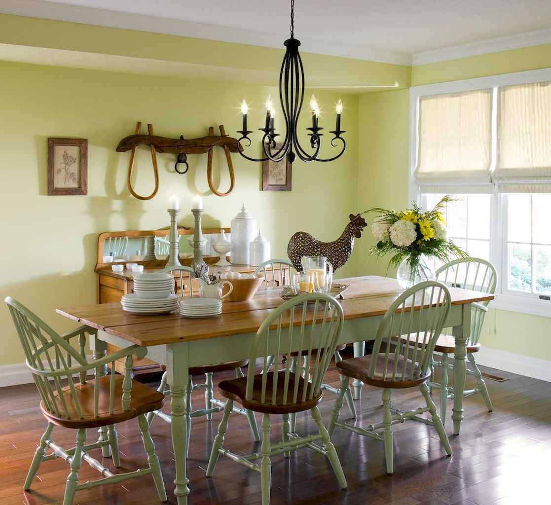 05 Gorgeous French Country Dining Room Decor Ideas