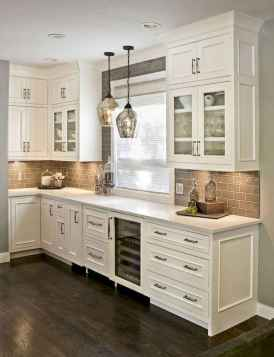 08 Gorgeous Gray Kitchen Cabinet Makeover Design Ideas