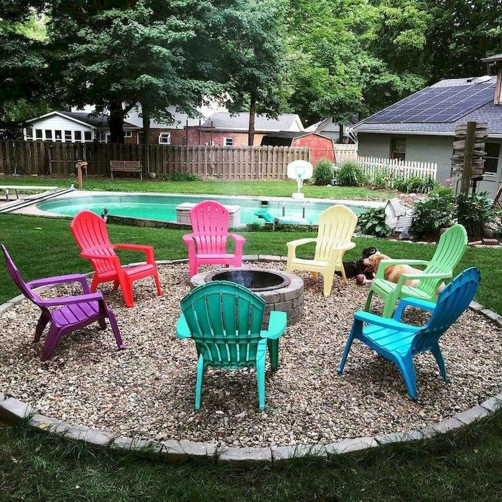17 Awesome Backyard Fire Pits with Seating Ideas