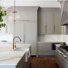 17 Gorgeous Gray Kitchen Cabinet Makeover Design Ideas