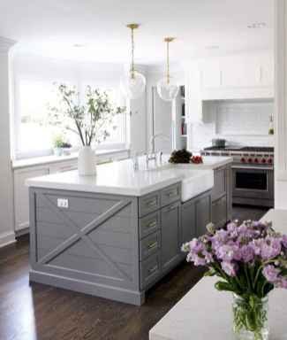 19 Gorgeous Gray Kitchen Cabinet Makeover Design Ideas