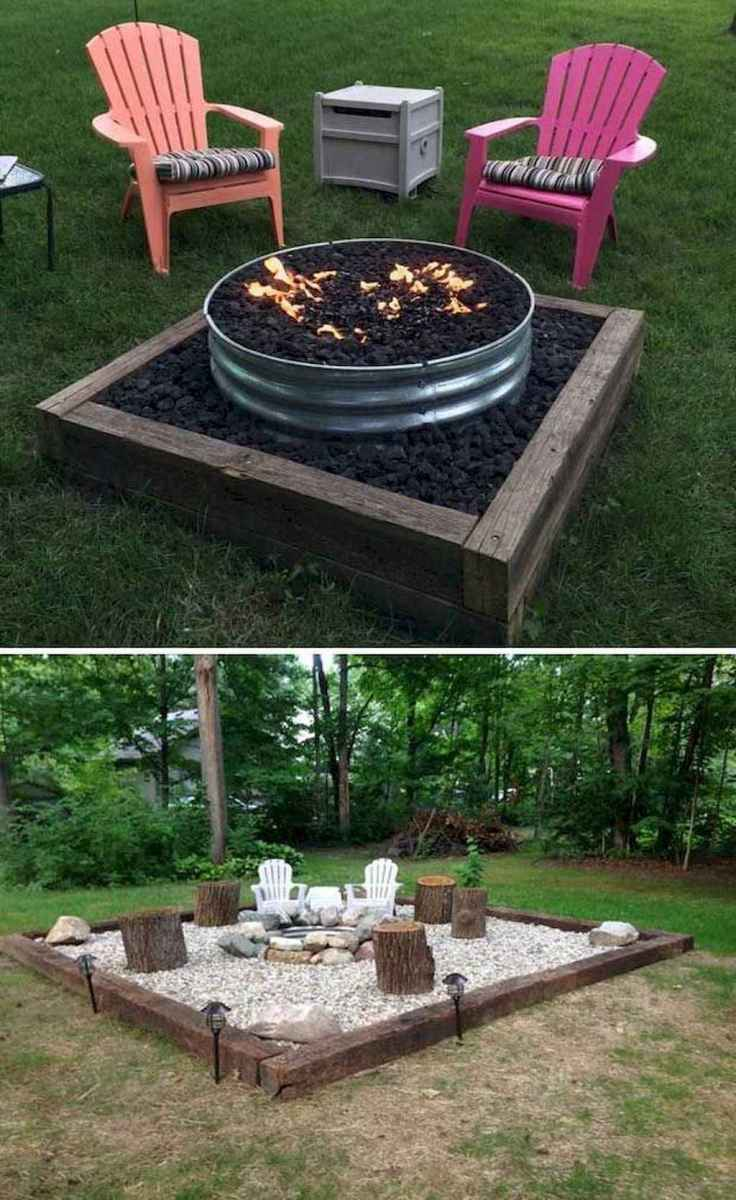 21 Awesome Backyard Fire Pits with Seating Ideas