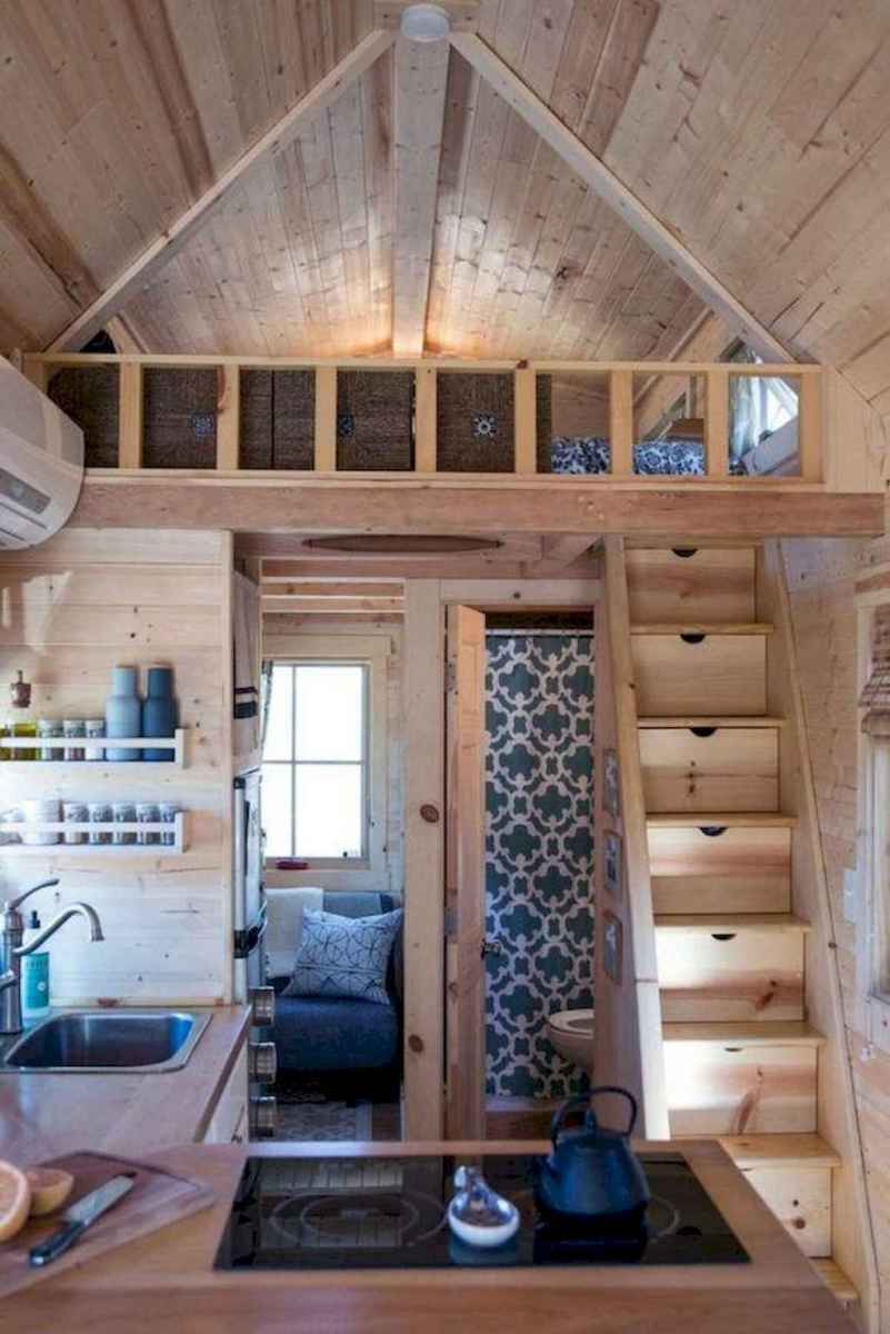 21 Clever Loft Stair Design for Tiny House Ideas