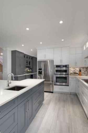 24 Gorgeous Gray Kitchen Cabinet Makeover Design Ideas