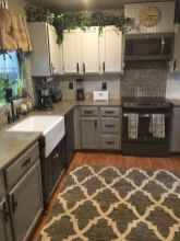 34 Gorgeous Gray Kitchen Cabinet Makeover Design Ideas