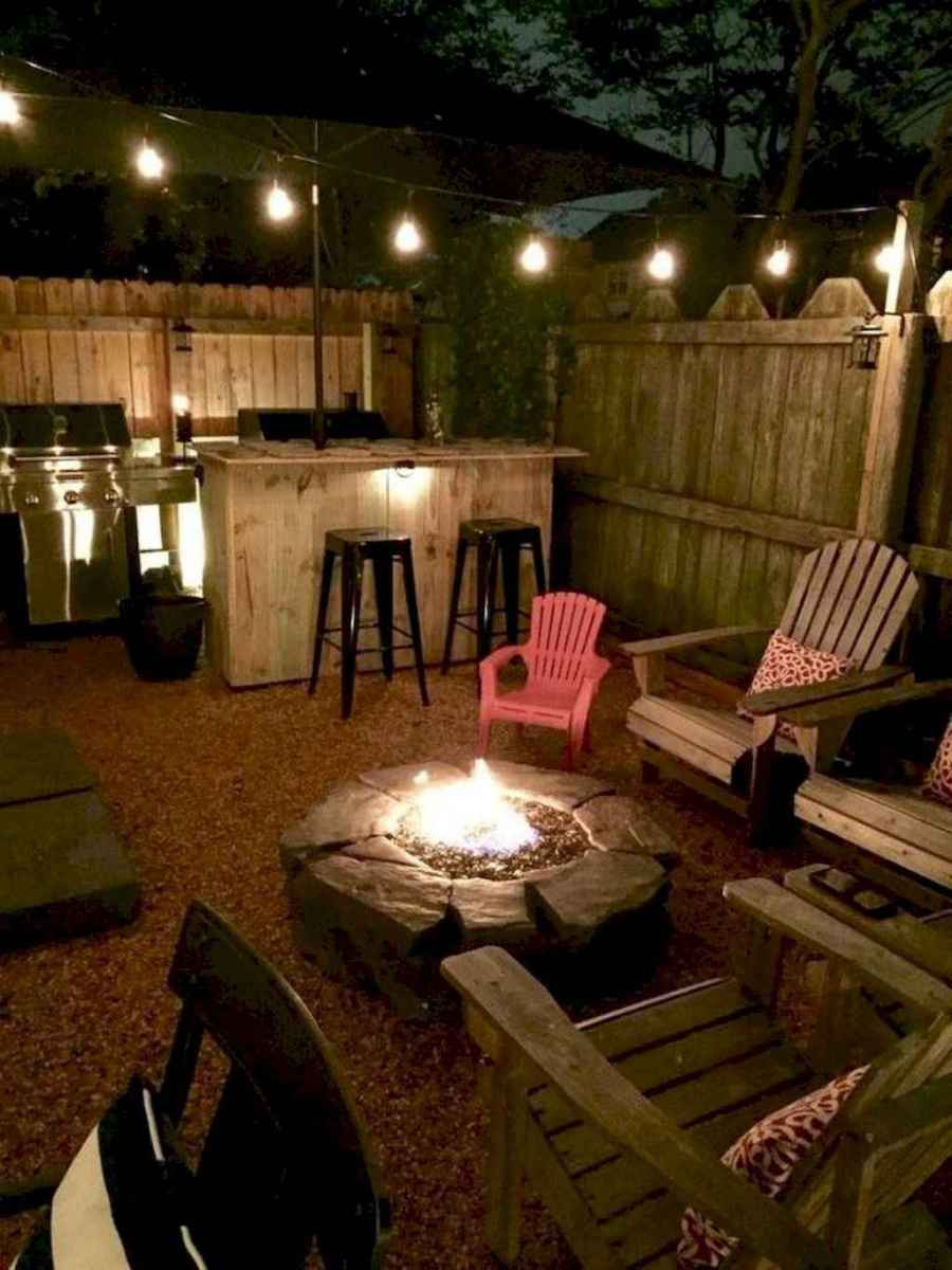 39 Awesome Backyard Fire Pits with Seating Ideas