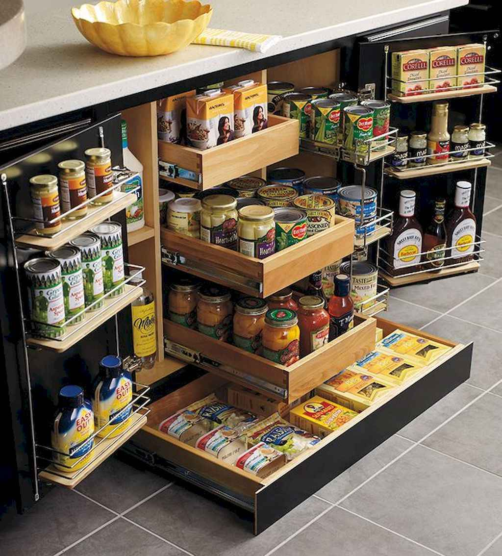 41 Genius Kitchen Cabinet Organization and Tips Ideas