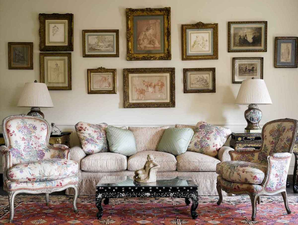 41 Incredible French Country Living Room Decor Ideas