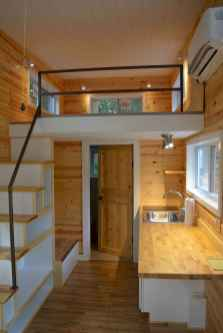 48 Clever Loft Stair Design for Tiny House Ideas