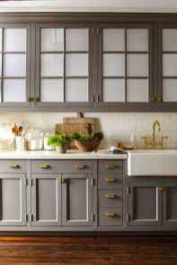 51 Gorgeous Gray Kitchen Cabinet Makeover Design Ideas