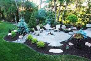 54 Awesome Backyard Fire Pits with Seating Ideas