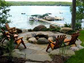 55 Awesome Backyard Fire Pits with Seating Ideas