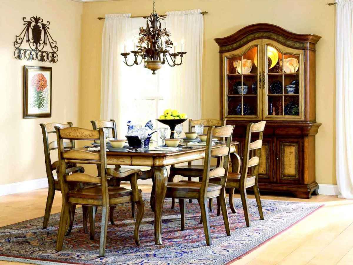 57 Gorgeous French Country Dining Room Decor Ideas