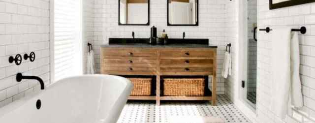70 Amazing Farmhouse Master Bathroom Ideas