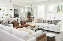 05 Best Modern Farmhouse Living Room Rug Decor Ideas