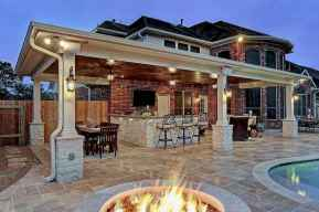 07 Amazing Outdoor Kitchen Design for Your Summer Ideas